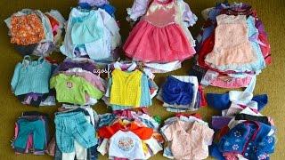 getlinkyoutube.com-All my American Girl Doll Outfits! HD WATCH IN HD!