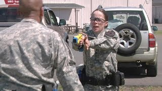 getlinkyoutube.com-Army Military Police Taser Training