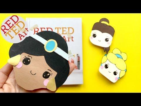 Jasmine Bookmark Corner DIY - Disney Princess Bookmarks DIY