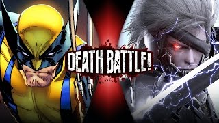 Wolverine VS Raiden | DEATH BATTLE!