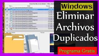 getlinkyoutube.com-Programa Para: Eliminar Archivos Duplicados en PC