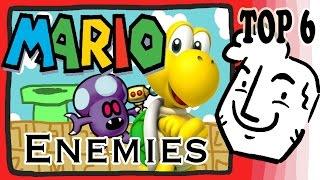 getlinkyoutube.com-Andrew's TOP 6 Mario ENEMIES!!