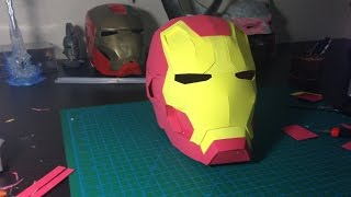 getlinkyoutube.com-How to make Iron Man Helmet out of EVA Foam Tutorial
