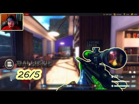 Ballistic - 26/5 com Atirador e Zangão !? (Gameplay em 1080p 60fps)