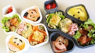 getlinkyoutube.com-OXO BENTO BOX :「ディズニー弁当」の作り方 Disney lunch box