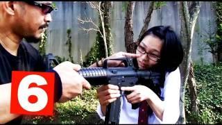 getlinkyoutube.com-初ライフル射撃でNG連発! | 軍曹どうでしょう?#06 | How Do You Like SGT?