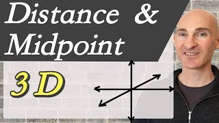 Distance and Midpoint Formula in 3 Dimensions width=