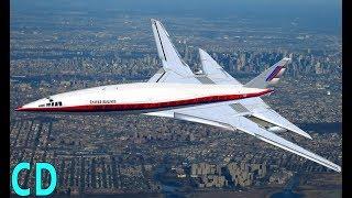 getlinkyoutube.com-The Forgotten American Concordes - Boeing 2707 - Lockheed L-2000 SST