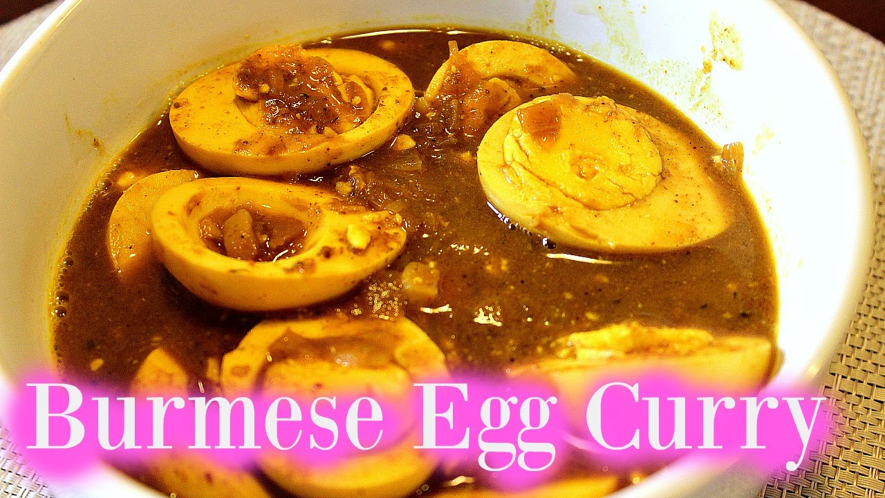 Myanmar food egg curry forumfinder Choice Image