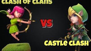 getlinkyoutube.com-Clash of Clans Vs. Castle Clash?