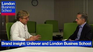Brand insight: Unilever and London Business School