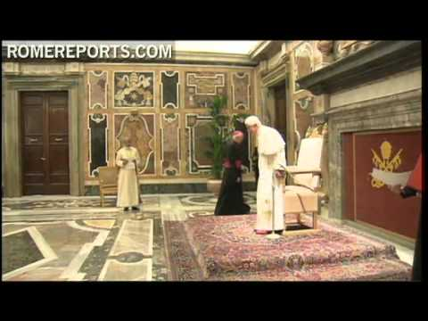Benedict XVI meets with representatives of the Syro-Malabar Church from India