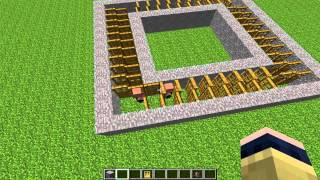 getlinkyoutube.com-كيف تسوي مزرعة قرويين بماين كرافت   minecraft arabic