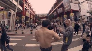 getlinkyoutube.com-Frank Yang - Violin Street Rampage 小提琴 街頭 大放蕩