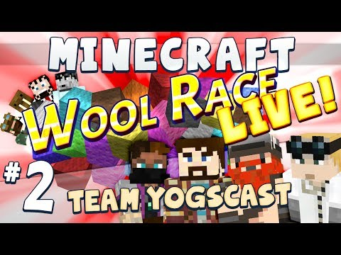 Wool Race: Tangled Live [Team Yogscast] Part 2
