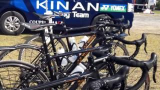 getlinkyoutube.com-熊野古道ヒルクライム 2016 那智海水浴場駐車場 YONEX カーボネックス キナンレーシングチーム