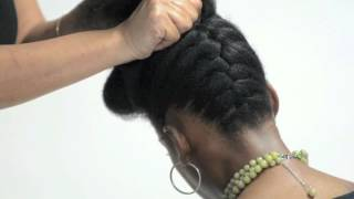 getlinkyoutube.com-Pump It Up Pin Up- Natural Hair Tutorial by Natural Resources Salon
