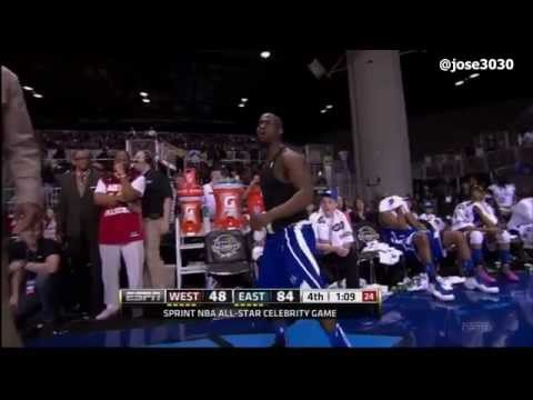 Kevin Hart get ejected from 2012 NBA All-Star Celebrity Game