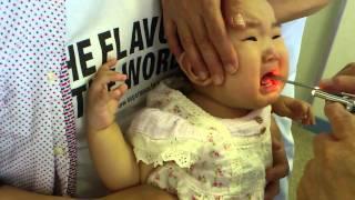 getlinkyoutube.com-ななみ、予防接種を受ける