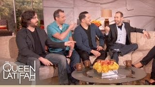 Impractical Jokers on Toughest Prank and Toughest Punishment   The Queen Latifah Show