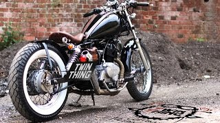 Honda Rebel 125 BLACK Bobber by www.twinthing.co.uk