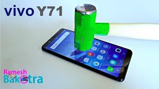 Vivo Y71 Screen Scratch Proof GlassTest width=