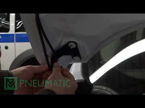 Установка амортизаторов (упоров) капота для Ford Kuga (арт. KU-FD-KG02-02) от upory.ru