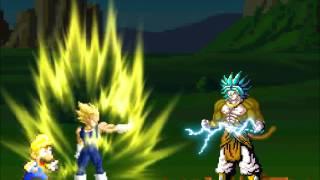 getlinkyoutube.com-Mario vs Goku The Clash
