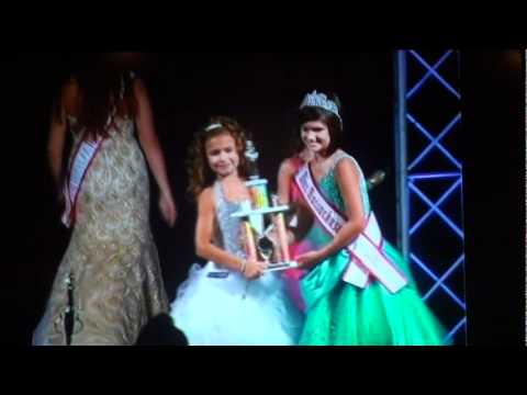 Sydney C at National American Miss Mass Jr. Preteen Crowning 2011