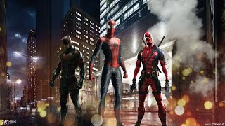 getlinkyoutube.com-Team Red- Superhero by Simon Curtis [Deadpool,Daredevil and Spiderman]