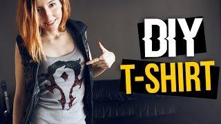 getlinkyoutube.com-👕 Cómo personalizar camisetas!  World of Warcraft símbolo de la Horda