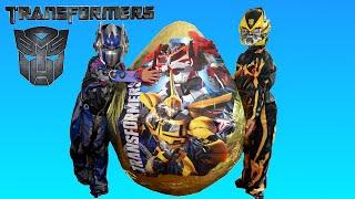 getlinkyoutube.com-GIANT EGG SURPRISE OPENING Transformers Super Giant Surprise Egg Transformers Biggest Surprise Eggs