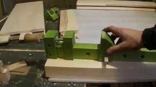 getlinkyoutube.com-Самодельная струбцина из дерева