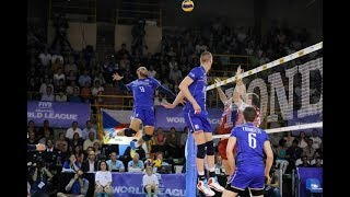 Top 10 attack spike volleyball by Ervin ngapeth France