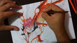 getlinkyoutube.com-Speed Drawing Challenge - Natsu Dragneel