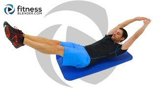 Quick 10 Minute Core Workout - Pain in My Abs!