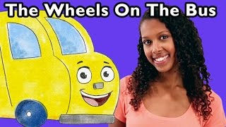 getlinkyoutube.com-The Wheels on the Bus | Nursery Rhyme Collection from Mother Goose Club!