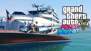 GTA 5 online - Best of funny moments #44 (Yacht de Luxe, Uber)