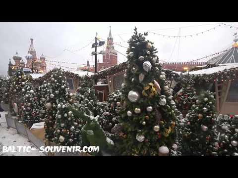 Кремль и Зарядье, Москва, Рождество / Kremlin, Moscow, Christmas