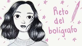 Reto Dibujando con un Bolígrafo!! (Ballpoint Pen Challenge) width=