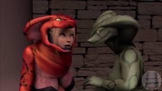 Snake Women Vore Marie And Honoka [VORE ANIMATION]