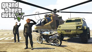 getlinkyoutube.com-GTA 5 Online Heists - All Heist Vehicles Unlocked (Valkyrie, Savage and Hydra Jet)