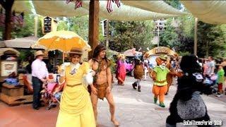getlinkyoutube.com-[HD] FULL Rare Disney's Characters Procession at Disneyland Long Lost Friends Week