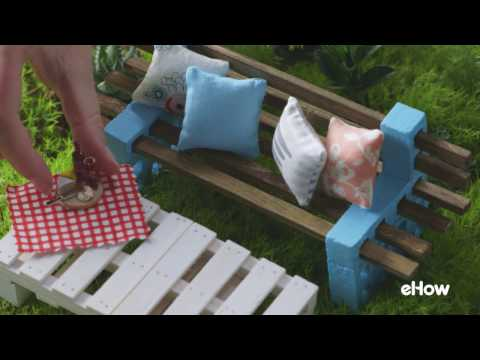 How to Make a TINY Simple Outdoor Bench