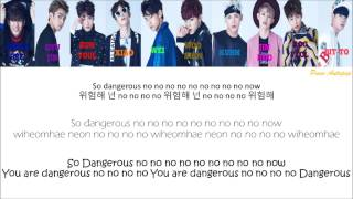 "getlinkyoutube.com-UP10TION ""So Dangerous"" Lyrics (Color Coded+Hangul+Rom+Eng)"