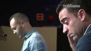 getlinkyoutube.com-Emocionante discurso de Andrés Iniesta. Acto despedida Xavi Hernández | www.weloba.com
