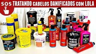 getlinkyoutube.com-Kit SOS Low Poo: Como Tratar Cabelos Danificados com Lola Cosmetics | Karina Viega