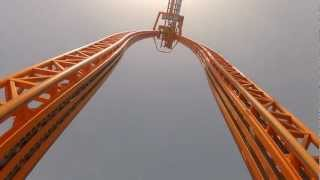 getlinkyoutube.com-Divertical Front Seat POV Mirabilandia Intamin Water Roller Coaster 1080p HD Italy