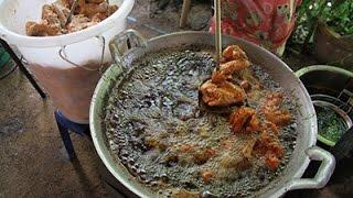 getlinkyoutube.com-วิธีทอดไก่ให้กรอบนอก นุ่มใน อร่อยสุดๆ จากร้านขนมจีนป้าเขียว คีรีวง นครศรีธรรมราช