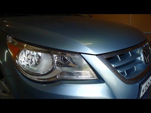Volkswagen Routan светодиодные би модули Optima в фары  Тюнинг фар, установка светодиодных ДХО